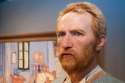 Notorious Dutch painter Vincent Van Gogh wax statue in Madame Tussaud's wax museum, amsterdam (no property released)