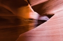 Antelope Canyon detail, Arizona, USA.