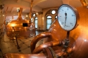 Copper traditional tanks for  brewing Heineken beer, Heineken brewery museum, Amsterdam (no property released)