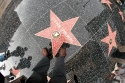 Stars from the Avenue in Hollywood, USA.