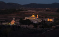 Night view of the Monastery of Santes Creus, Spain